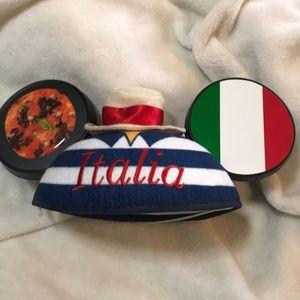 Mickey ears with Italian flare
